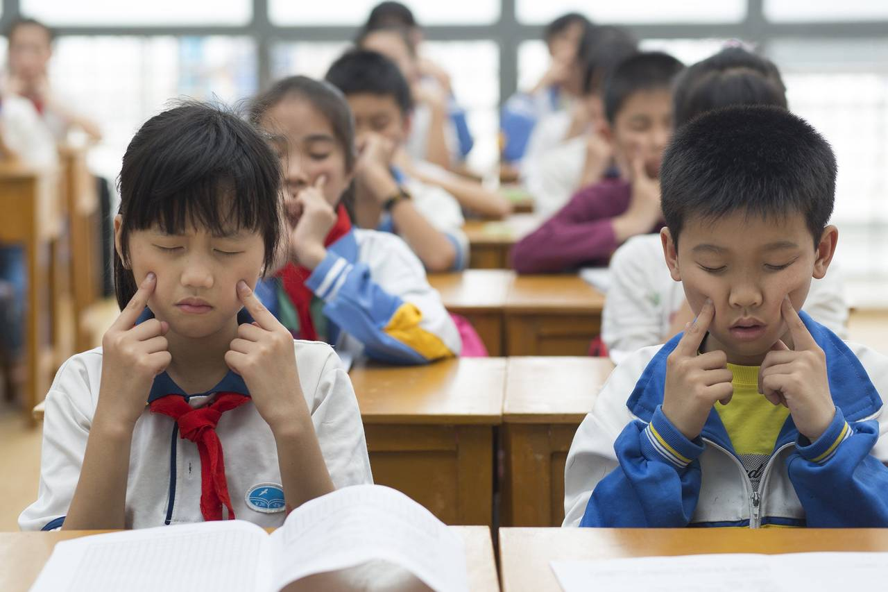 The Puzzling Rise in Nearsighted Children