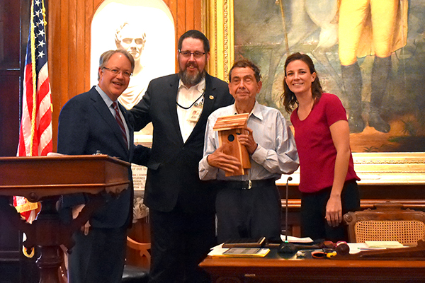 Sebastian DeModica, a client and participant in the Employee Development track of our Own Your Life program, was recently named the Reverend Alma Dungee Volunteer for the Year by Keep Charleston Beautiful